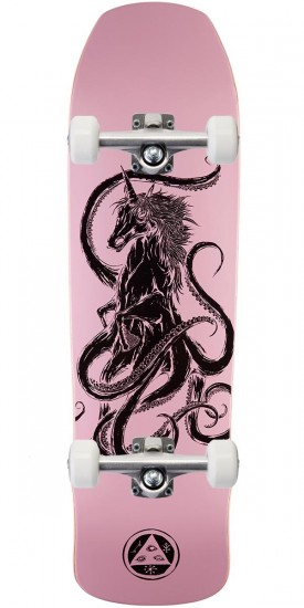 """Welcome Seahorse on Time Traveler Skateboard Complete - Pink - 8.8"""""""