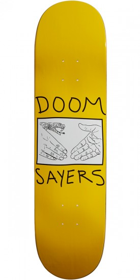 Doom Sayers Snake Shake Skateboard Deck - 8.08""