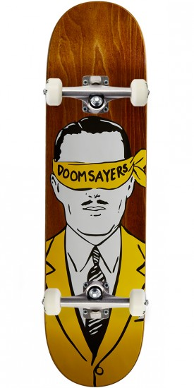 Doom Sayers Corp Guys Skateboard Complete - 8.20""