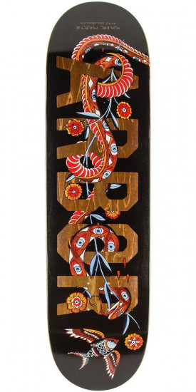 "Arbor Whiskey Kyler Martz Skateboard Deck - 8.0"" - Black"