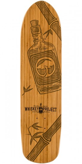 Arbor Whiskey Pistola Skateboard Deck - 8.6""