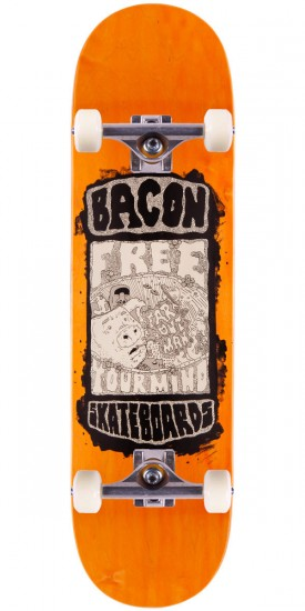 Bacon Moai Skateboard Complete - 8.5""