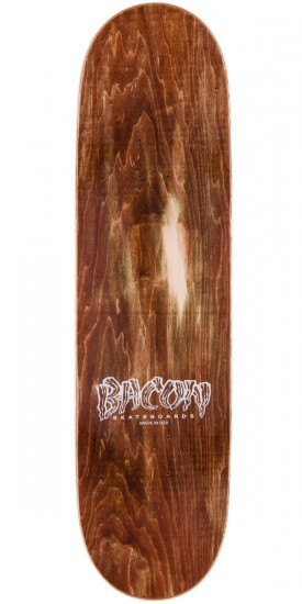 """Bacon Psych Font Skateboard Complete - Red - 9.0"""""""