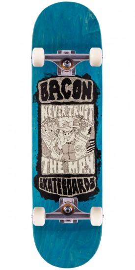 Bacon Uncle Ham Skateboard Complete - 8.25""
