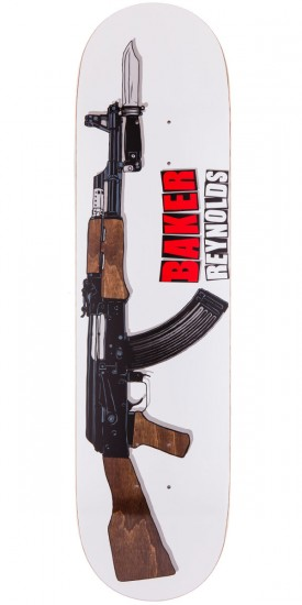 Baker Andrew Reynolds Assault Skateboard Deck - 8.00""