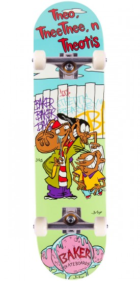 """Baker Beasley Theo, Thee Thee, Theotis Skateboard Complete - 8.0"""""""