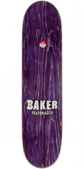 Baker Dee Brand Name Skateboard Complete - Black/Yellow - 8.0""