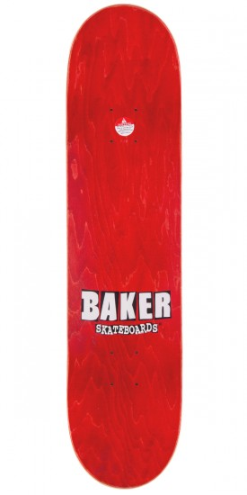 Baker Hawk Brand Name Skateboard Complete - Yellow/Psychedelic - 7.75""