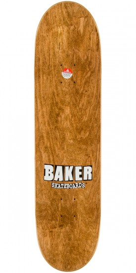 Baker Hawk Tribute Skateboard Complete - White/Red - 8.25""
