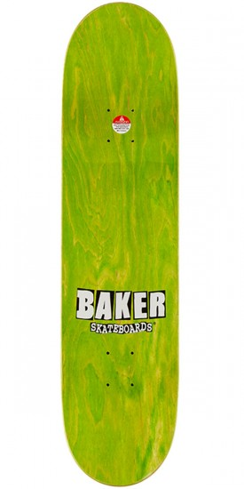 Baker Racing Skateboard Deck - 8.0""