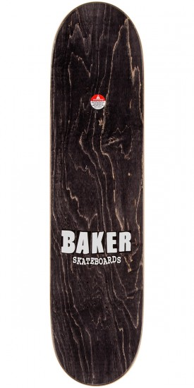 "Baker Reynolds Aliens Skateboard Deck - 8.0"" - Green Stain"