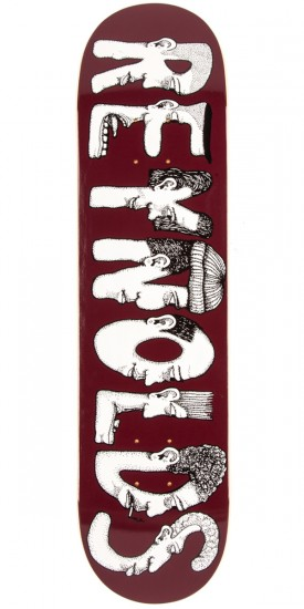 Baker Reynolds Dabble Skateboard Deck - 7.75""