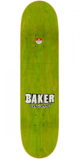 Baker Reynolds Logo Skateboard Complete - Navy/Orange - 8.125""