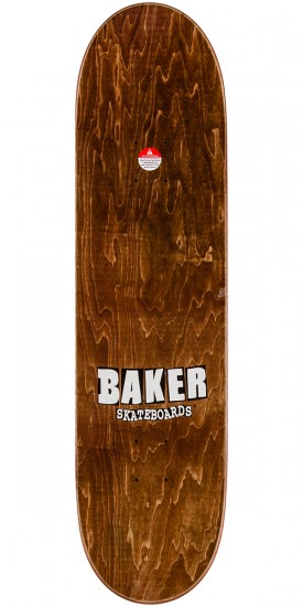"Baker Reynolds Skateful Shred Skateboard Complete - 8.475"" - Teal Stain"