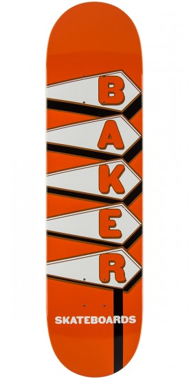 Baker 24 Hours Skateboard Deck - 8.0""
