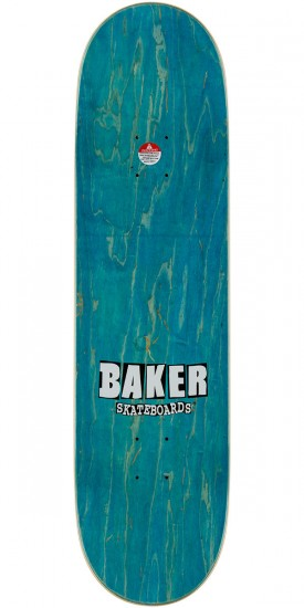 Baker Brand Logo Skateboard Complete - Hunter Green/Orange - 8.5""