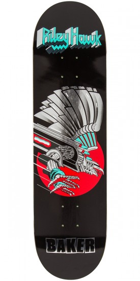 Baker Hawk Metal Hawk Skateboard Deck - 8.25""
