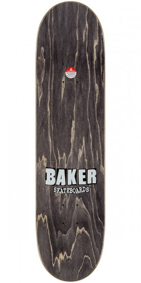 Baker Kennedy Brand Name Skateboard Deck - Turquoise/Pink - 8.125""