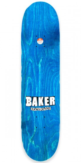 Baker Spanky Brand Name Childs Play Skateboard Deck - 8.12""