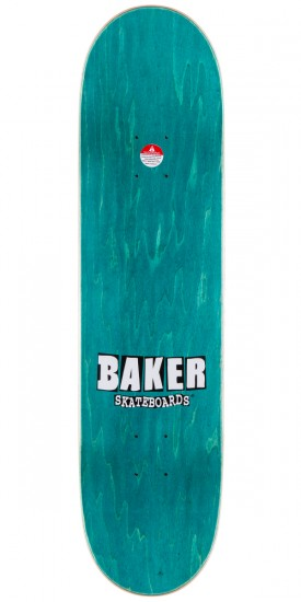 Baker Stacked Floral Skateboard Deck - 8.0""