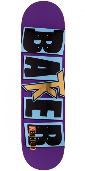 Baker Terry Kennedy Purple Skateboard Deck - 8.125""