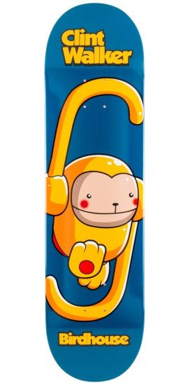 Birdhouse Clint Walker Monkey Skateboard Deck