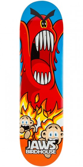 Birdhouse Jaws Lava Skateboard Deck