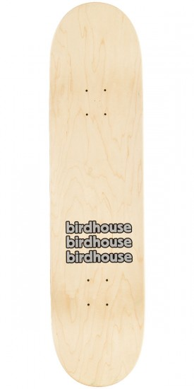 Birdhouse Raybourn Eggs Skateboard Deck - Green Stain - 8.25""