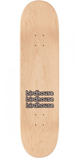Birdhouse Raybourn Eggs Skateboard Deck - Yellow Stain - 8.25""