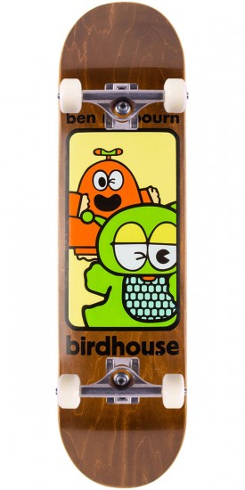 Birdhouse Raybourn Things Skateboard Complete - Brown Stain - 8.125""