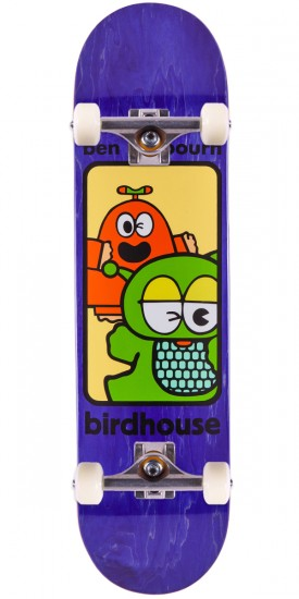 """Birdhouse Raybourn Things Skateboard Complete - Purple Stain - 8.125"""""""
