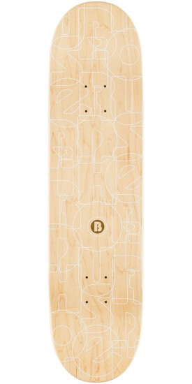 "Birdhouse Raybourn Toast Skateboard Deck - 8.0"" - Yellow Stain"