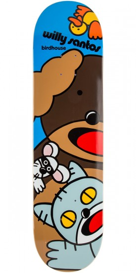 Birdhouse Santos Animals Skateboard Deck - 7.75""