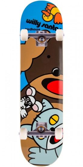 Birdhouse Santos Animals Skateboard Complete - 8.0""