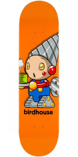 Birdhouse Team Robot Skateboard Deck - 8.0""