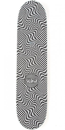 Blind OG Warped HYB Skateboard Complete - Black/White - 7.75""