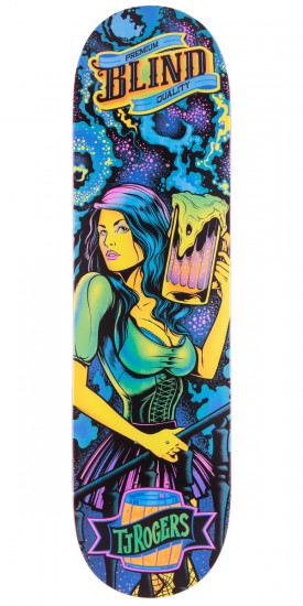 Blind TJ Ultra Violet Skateboard Deck - 8.25""
