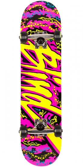 Blind Trip Out Youth Mid Skateboard Complete - Pink - 7.25