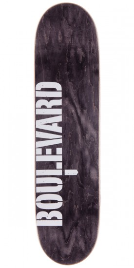 Boulevard Art Deco Team Skateboard Complete - 8.3""