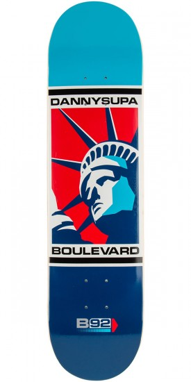 Boulevard Genuine Supa Skateboard Deck - 7.75""