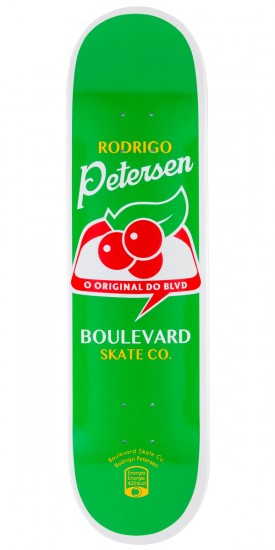 Boulevard Rodrigo Peterson One Off Skateboard Deck - 8.10""