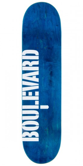 Boulevard Rodrigo Peterson One Off Skateboard Complete - 8.10""