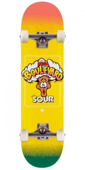 Boulevard Team One Off Skateboard Complete - 8.00""