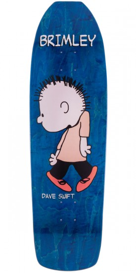 Brimley Dave Swift Guest Skateboard Deck - 9.25""