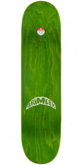 Brimley See Through Cast Elmo Skateboard Complete - 8.0""
