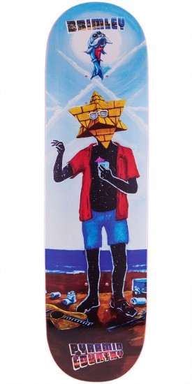 Brimley The Sacred Spring Breaker Skateboard Deck - 8.5""
