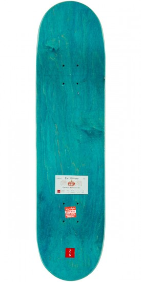 "Chocolate Anderson Calling Card Skateboard Deck - 8.125"" - Teal Stain"