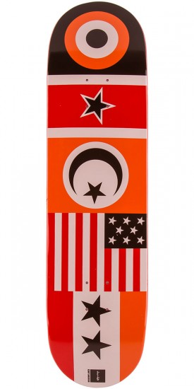 """Chocolate Anderson Flags Skateboard Deck - 8.125"""""""