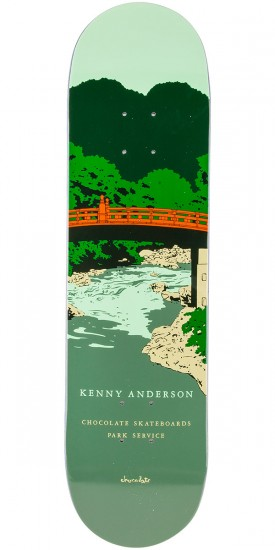 Chocolate Anderson Park Service Skateboard Deck - 8.125""