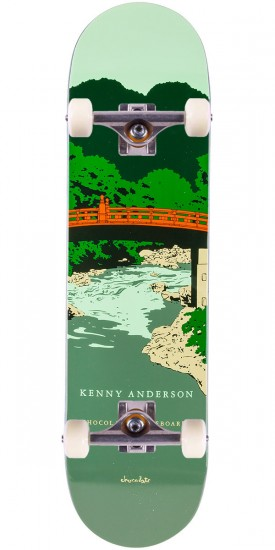 Chocolate Anderson Park Service Skateboard Complete - 8.125""